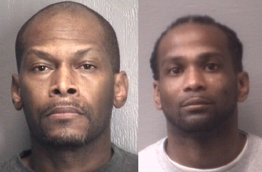 After repeated arrests, two men sentenced as habitual felons