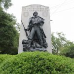 The Confederate Soldiers Monument at the intersection of S. 3rd and Dock Streets in downtown Wilmington. (Port City Daily photo/BEN SCHACTMAN)