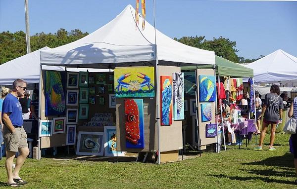 The 28th Annual Oak Island Arts And Crafts Festival