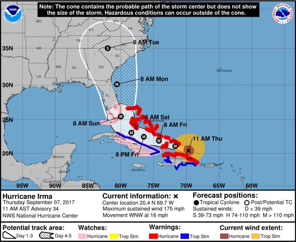 Charlotte Georgia Map.Update Latest Hurricane Irma Predictions Show Impact On Charlotte