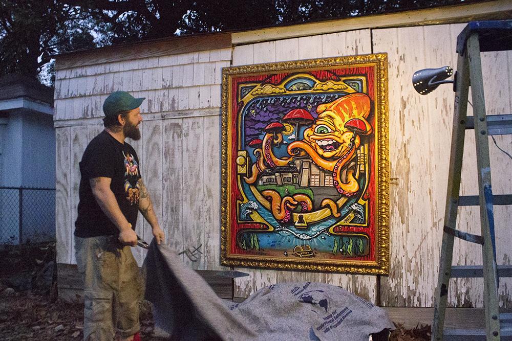 Public Nuisance Or Public Art Muralist Wants Wilmington