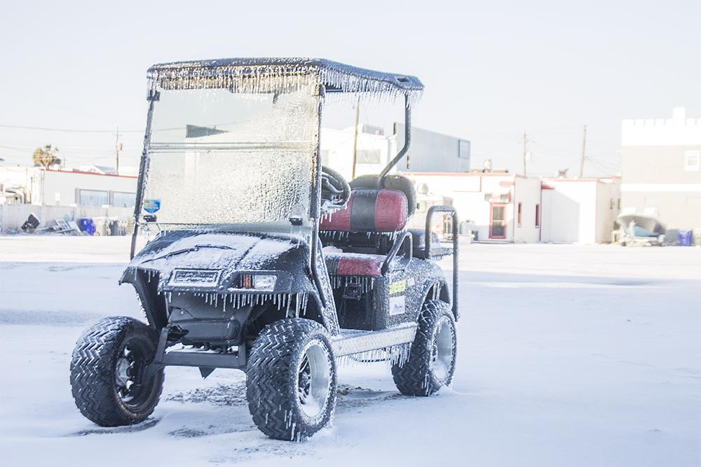 Winter snow storm on the way overnight Monday