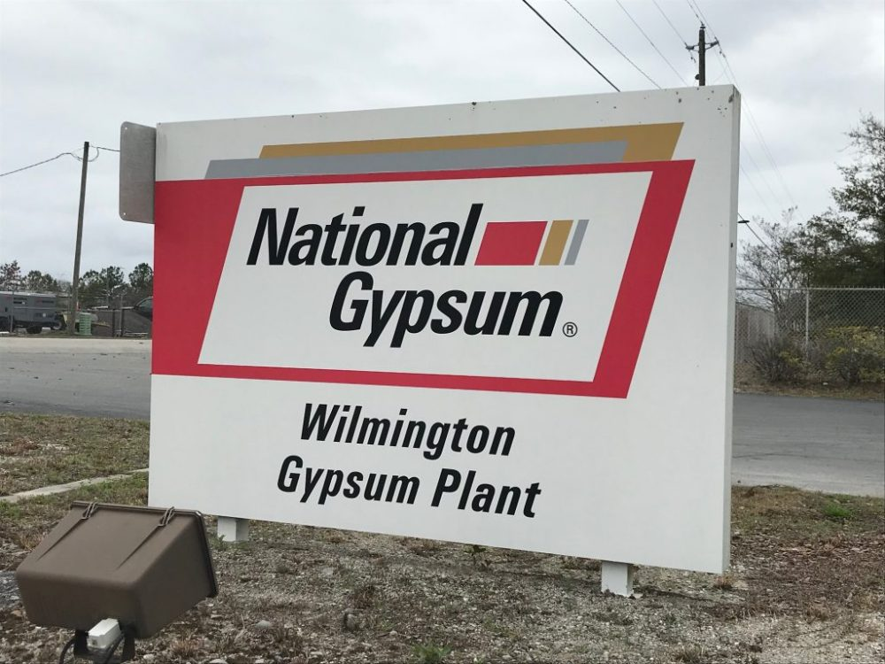 County Commissioners approve incentives for National Gypsum