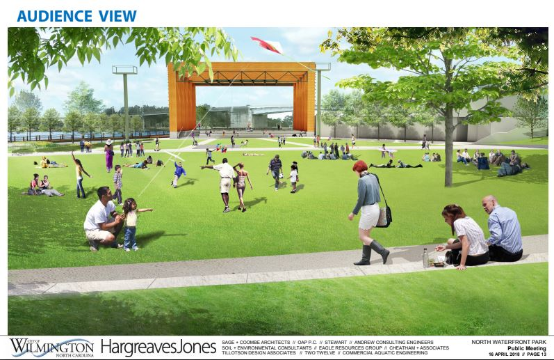 final north waterfront park plans revealed live nation amphitheater on its way to wilmington. Black Bedroom Furniture Sets. Home Design Ideas