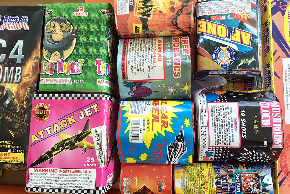 Bringing fireworks to North Carolina for the Fourth? Save