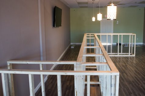 Files said he aims to wrap up construction of the retail bar and lounge by early next week, with a grand opening scheduled for Saturday, Jan. 19. (Port City Daily photo/Mark Darrough)