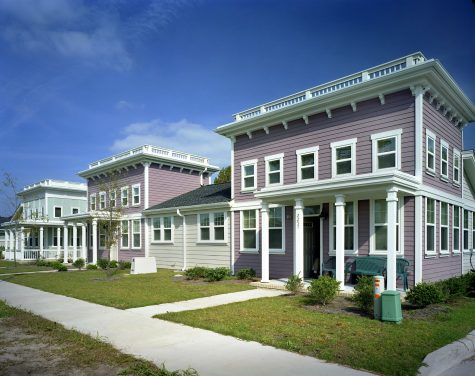 Many of the detached and semi-detached housing units are owned by individual families who, over the last decade, have not had a role in the HOA. (Port City Daily photo / Courtesy Telesis)