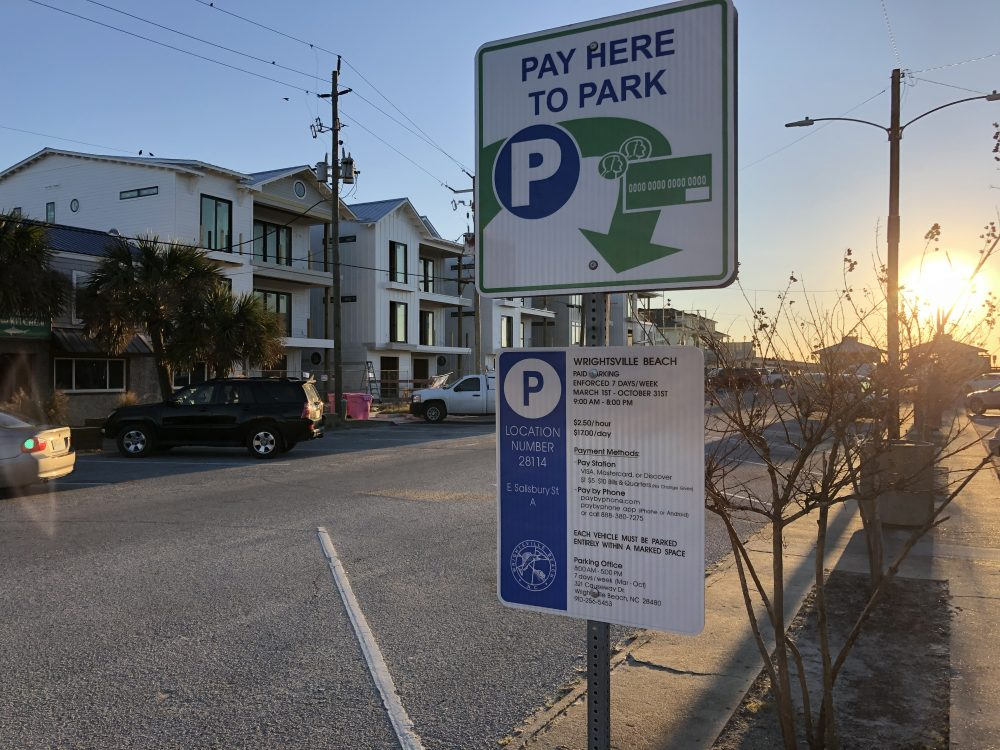 Parking in Wrightsville Beach could be on the rise yet again (Port City Daily/Michael Praats)