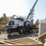 Residential construction in Brunswick Forest and the greater Leland area rapidly continues as a $1 billion bridge is planned in its path. (Port City Daily photo/Johanna Ferebee)