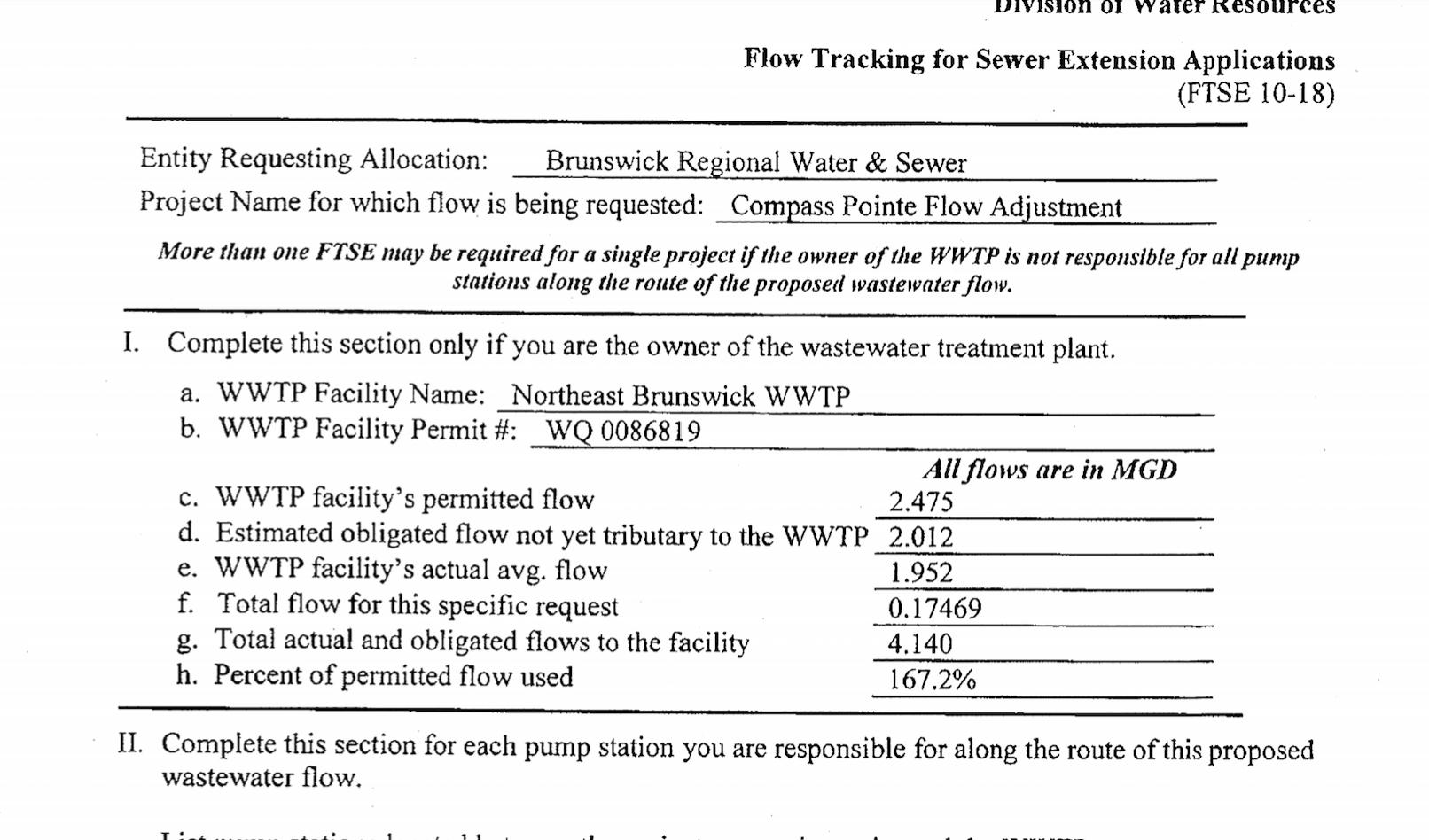 Breaking: DEQ imposes sewer moratorium in Brunswick County