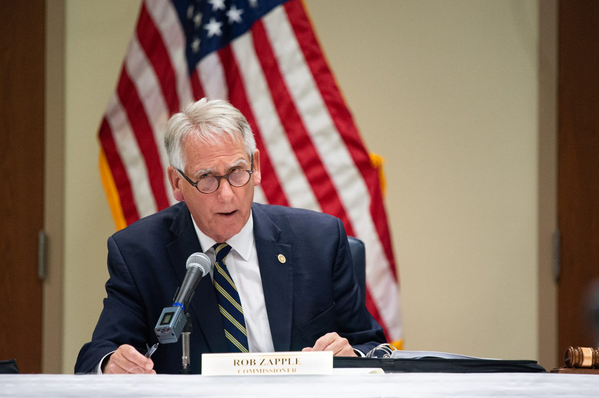 """New Hanover County Commissioner Rob Zapple said the process has lacked transparency, ignored input from the medical community, and risked losing local control """"of an enormously valuable asset."""" (Port City Daily photo/Mark Darrough)"""