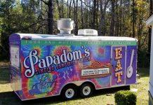 Papadom's Singing Sangwich Truck