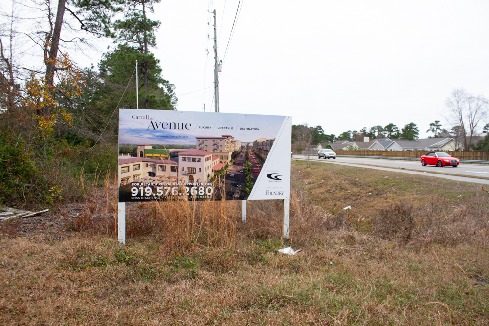 The City of Wilmington is awaiting Technical Review Committee submittals from developers of The Avenue, a major mixed-use development planned and approved off Military Cutoff. (Port City Daily photo/File)