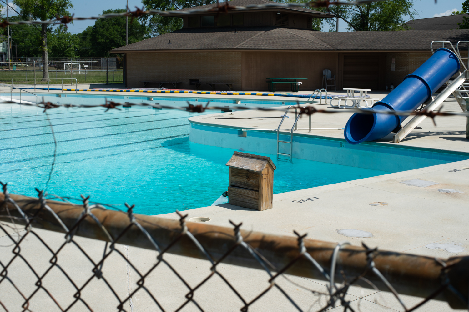 Legion Stadium and other public pools will open for the summer on May 29. (Port City Daily photo/Mark Darrough)