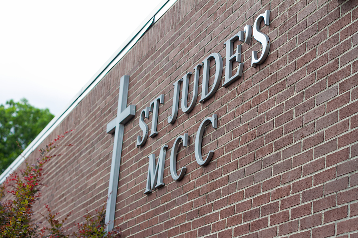 St. Jude's MCC, founded in 1992, was Wilmington's first openly gay-accepting institution, outside of the bar scene, when it was formed. (Port City Daily photo/Johanna F. Still)